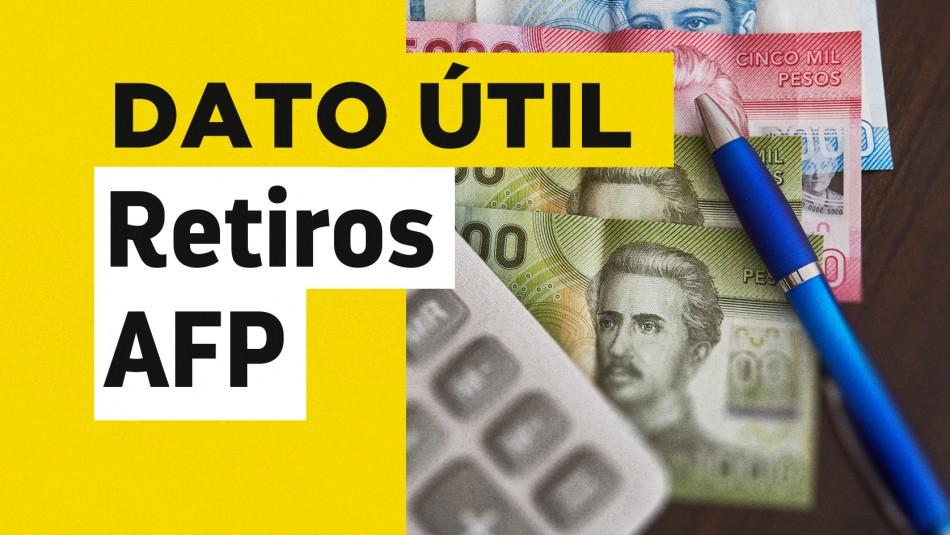 Retiros del 10%: Conoce hasta cuándo puedes extraer tus fondos de las AFP
