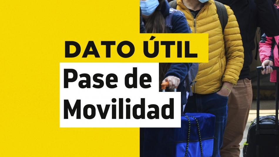 Comunas en Cuarentena: ¿Qué puedo hacer con y sin Pase de Movilidad?