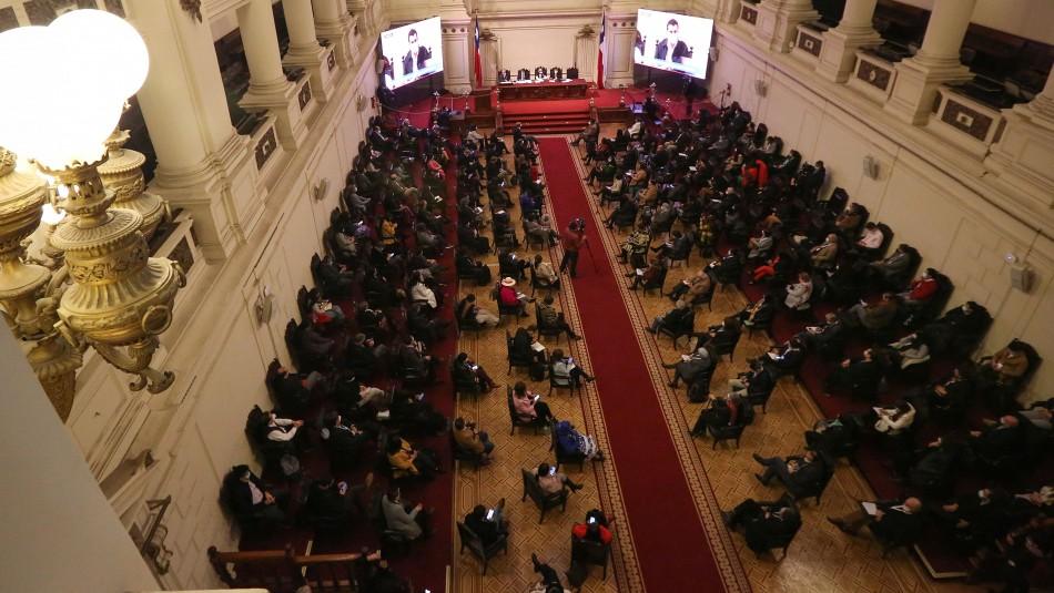 Convención Constitucional volverá a sesionar el martes