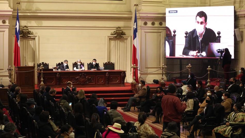 Convención aprueba declaración sobre detenidos en estallido social y militarización del Wallmapu