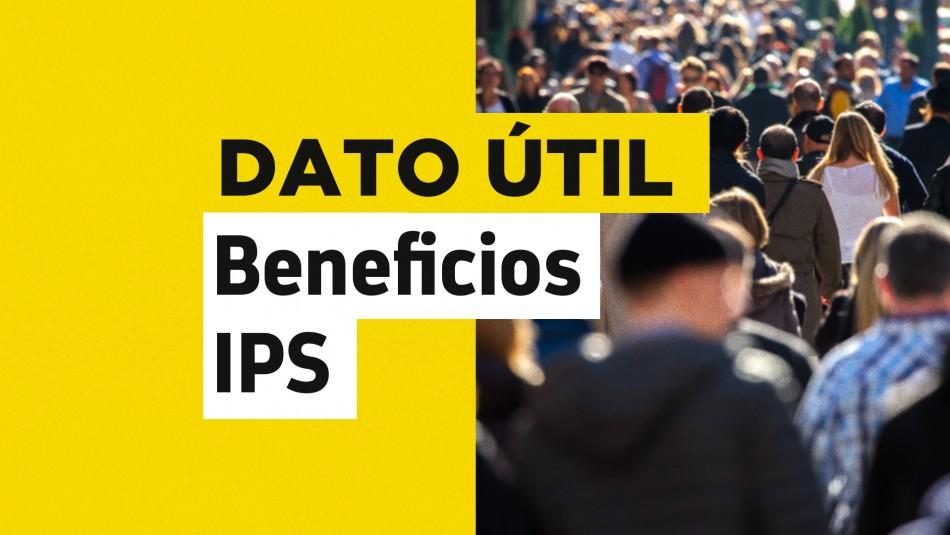 Solo con tu RUT: Revisa cuándo obtienes el pago de tus beneficios del IPS