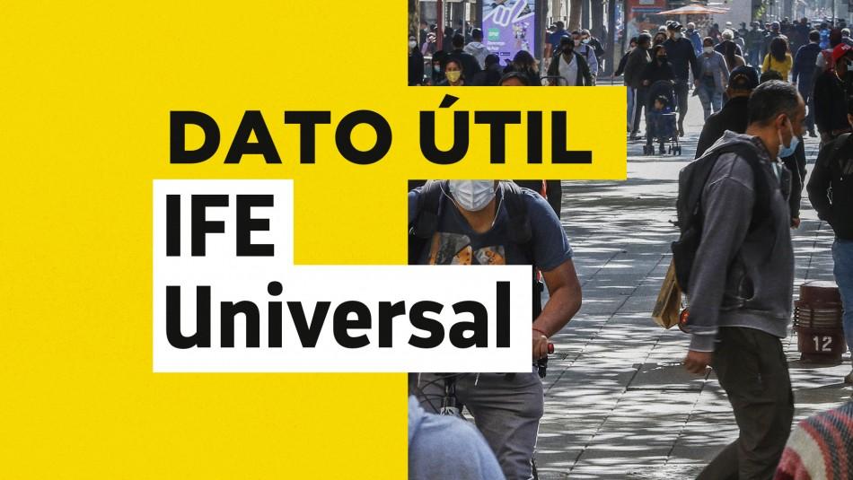 IFE Universal: ¿Cuándo finaliza el pago presencial del bono de junio?