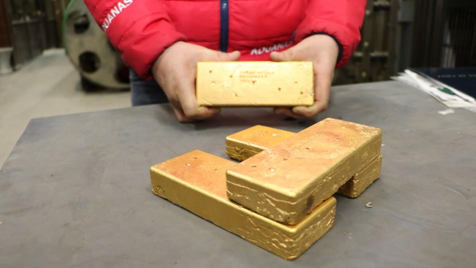 Cae banda dedicada al contrabando de lingotes de oro entre Argentina y Chile