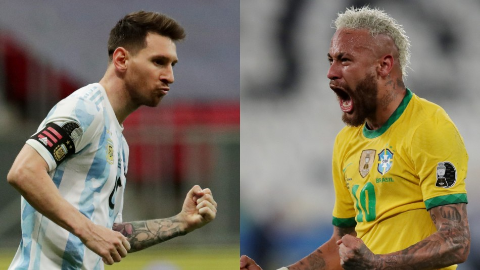 Copa América: Lionel Messi y Neymar fueron elegidos los mejores jugadores del torneo