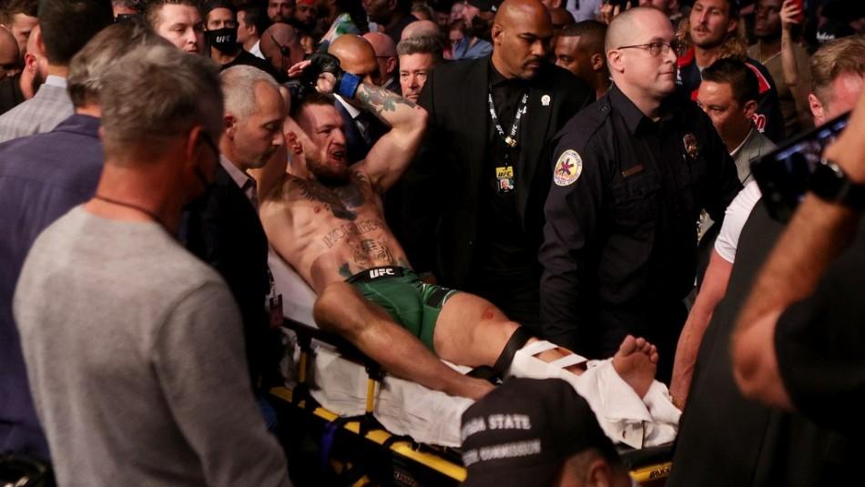 Fractura de Conor McGregor provoca la victoria de Dustin Poirier en la UFC 264