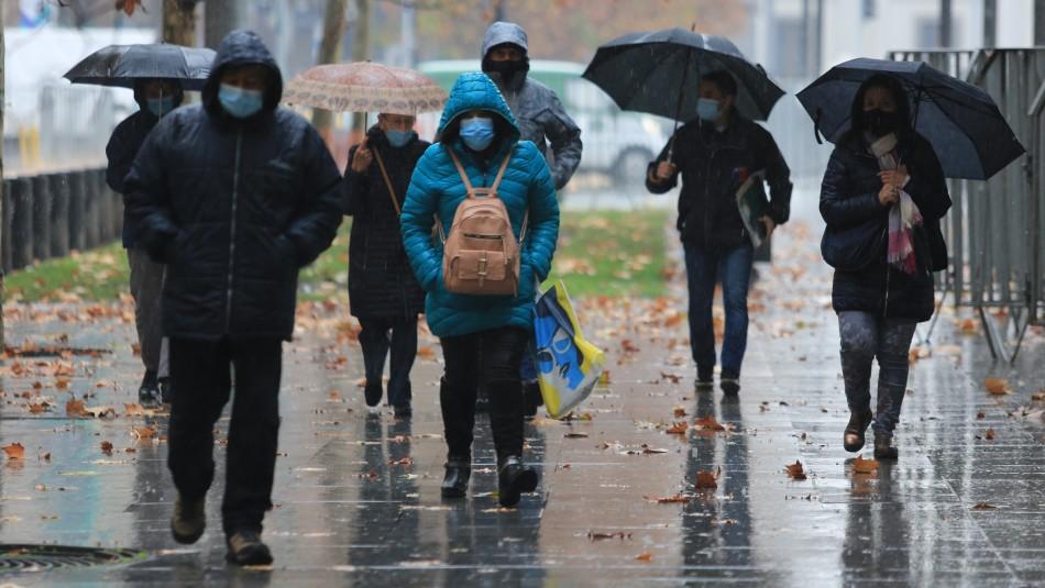 Anuncian lluvias para este miércoles en Santiago: También habrá baja en las temperaturas