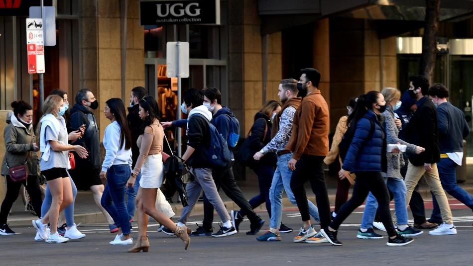 Australia registra su primer deceso en Sídney por reciente brote de coronavirus
