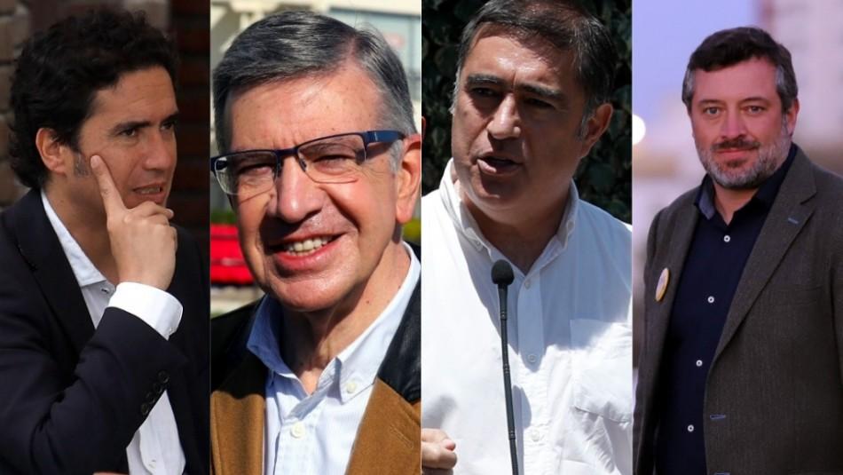Debate presidencial Chile Vamos: La apuesta de los cuatro candidatos previo a las primarias
