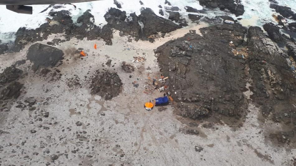 Encuentran a seis pescadores que estaban desaparecidos en Coquimbo: Dos siguen sin ser hallados