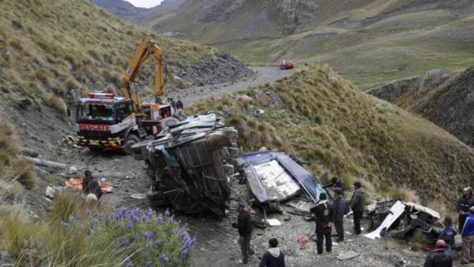 Accidente de autobús en Bolivia deja un saldo de 34 muertos: