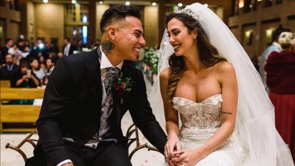Daniela Colett confirmó el quiebre con Eduardo Vargas: