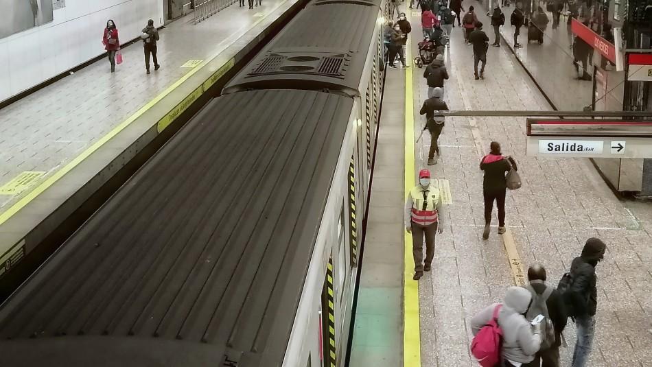 Metro suspende su servicio en diferentes estaciones de la Línea 1