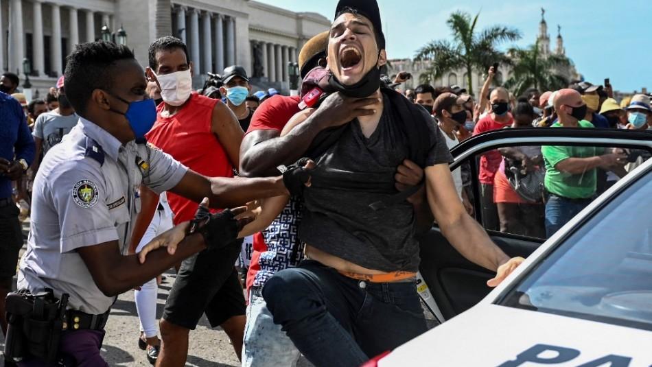 Confirman un muerto en medio de manifestaciones en Cuba