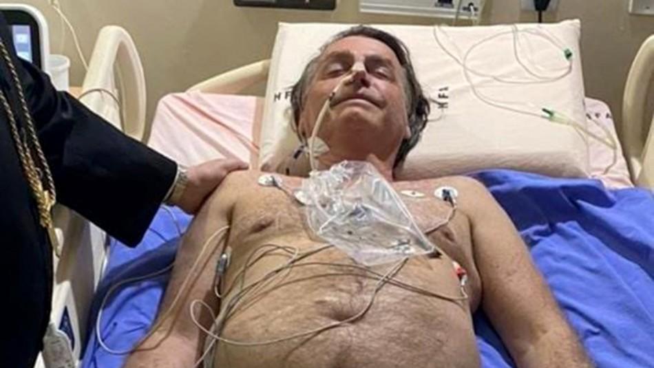 Bolsonaro padece