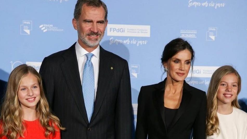 En jeans ajustados y poleras: Las hijas de la reina Letizia se lucen como nunca