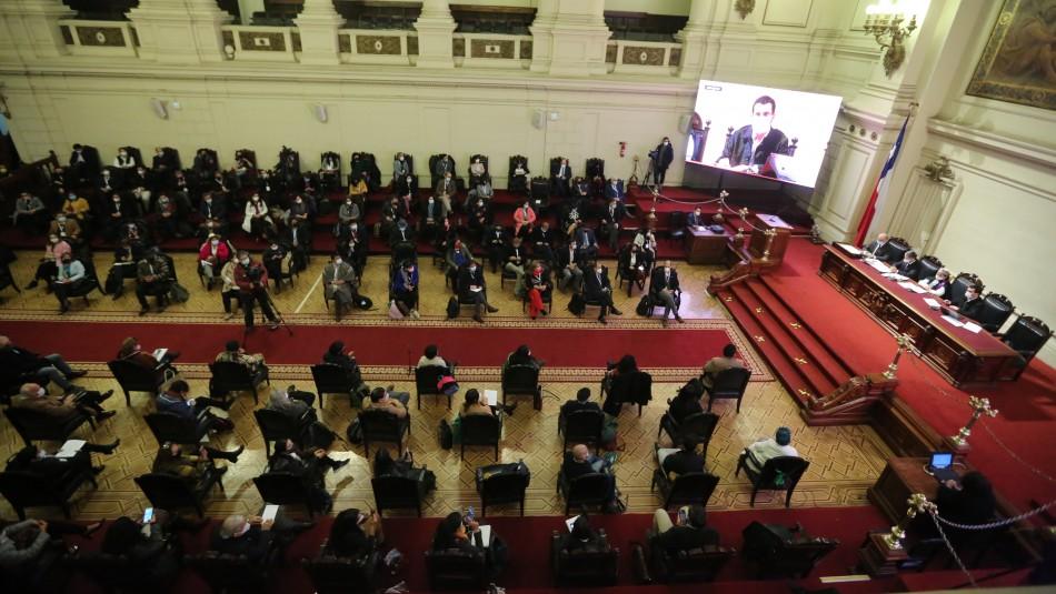 Convención aprueba propuesta de reglamento provisorio