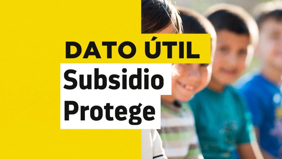 Subsidio Protege: Revisa hasta cuándo se puede postular en julio