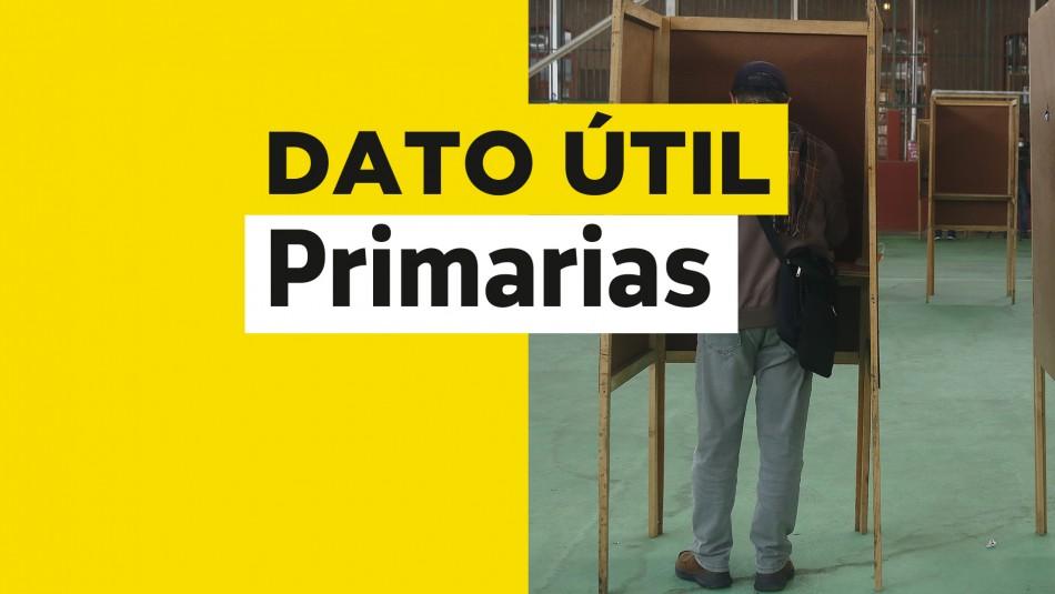 Primarias Presidenciales: ¿Cuál es el horario de votación para este domingo?
