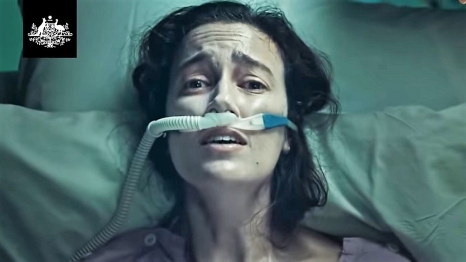 Australianos indignados por polémico video usado como campaña oficial contra el coronavirus