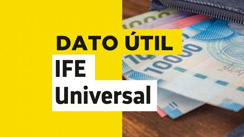 IFE Universal: Conoce aquí la fecha de pago del bono de julio