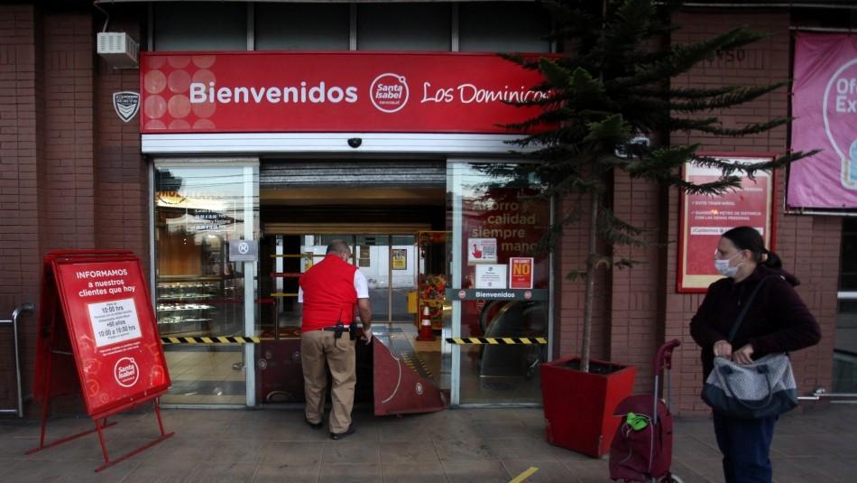 Santa Isabel cierra algunos locales por Primarias: Revisa qué supermercados no abren hoy