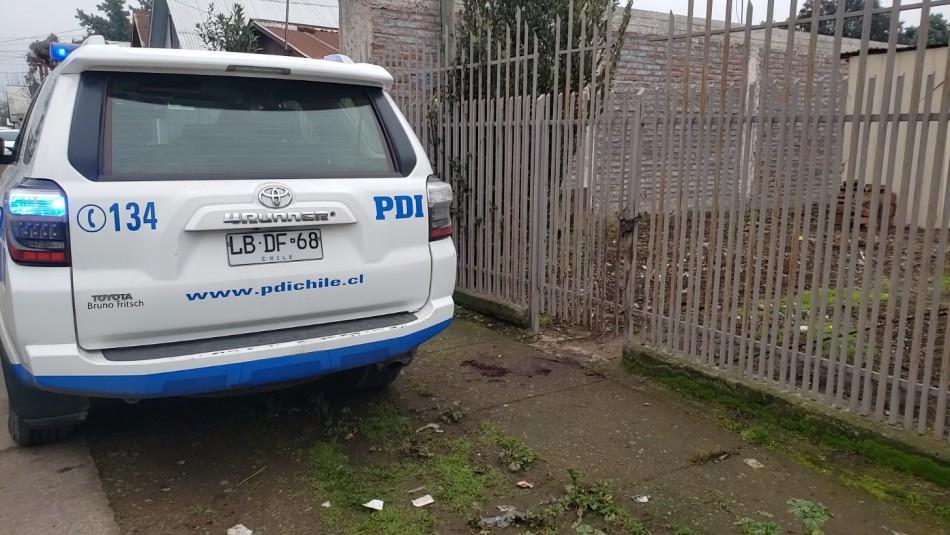 Un hombre muere y otro queda herido tras ataque de perros pitbull en Curicó
