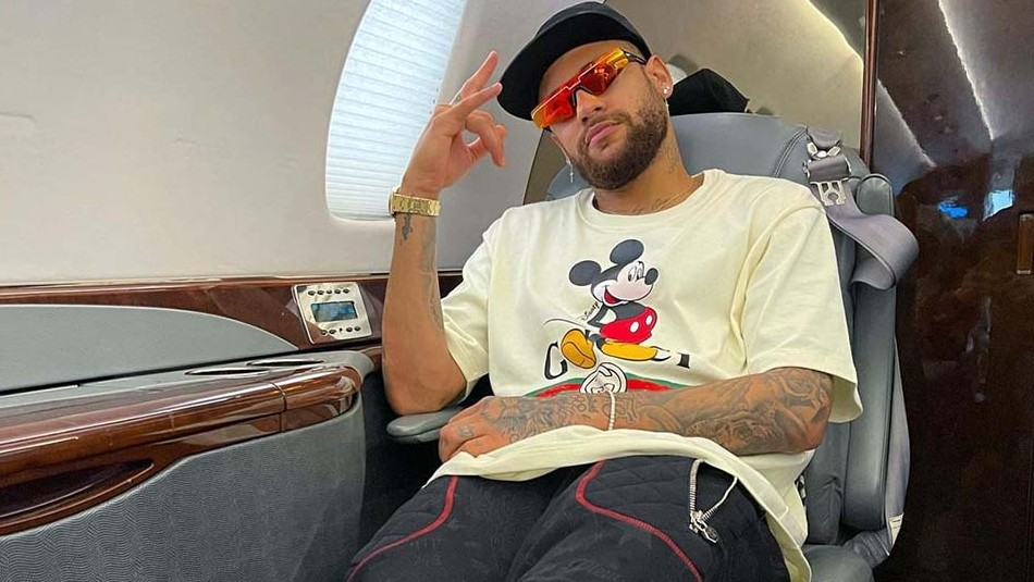 Neymar lleva ahora el cabello largo: Así luce con su nuevo look de trenzas doradas