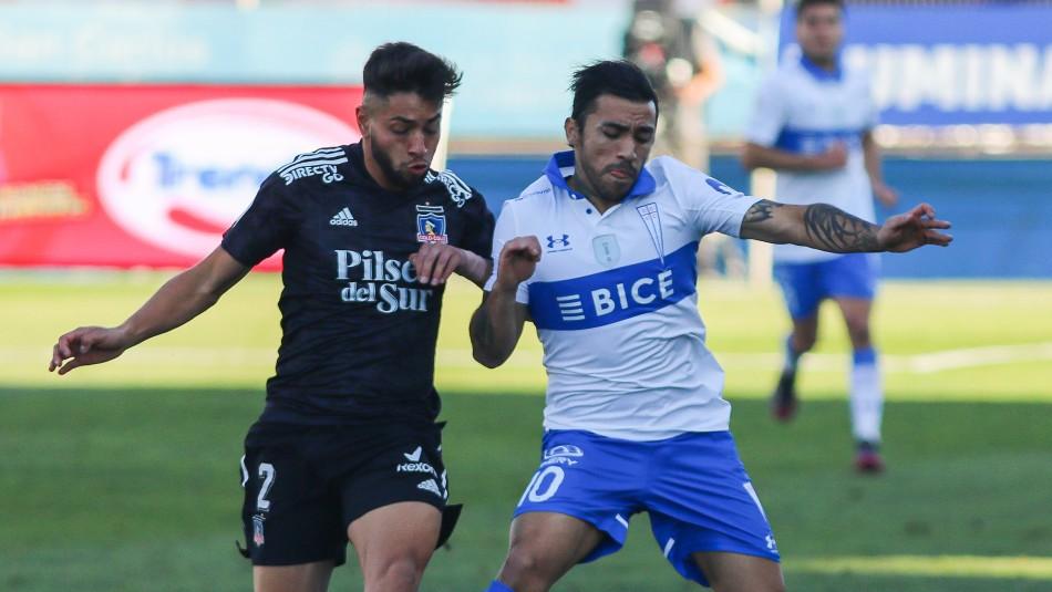 Universidad Católica y Colo Colo empatan en el clásico jugado en San Carlos de Apoquindo