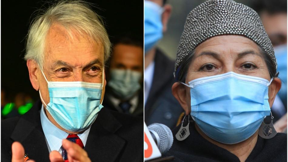 Presidente Piñera y amenazas a Elisa Loncon: