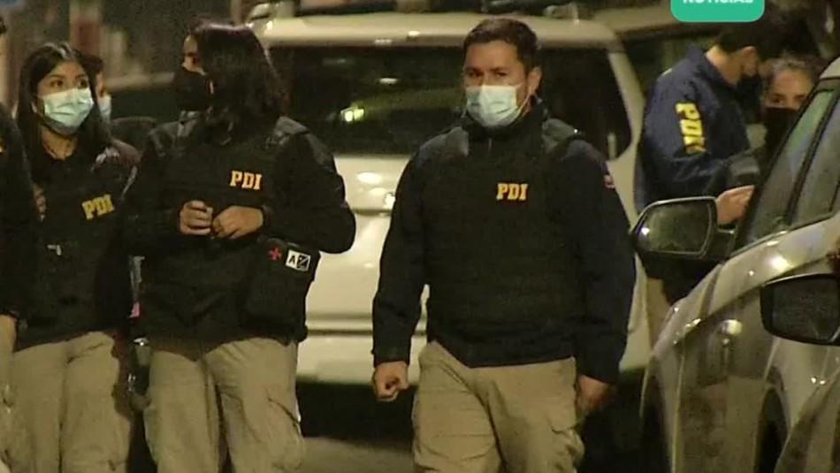 Tour delictual terminó con un asaltante muerto y otro herido por funcionario de la PDI