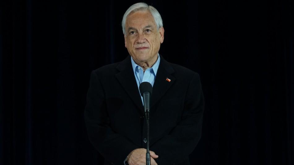 Sebastián Piñera felicita a Sichel y Boric por el triunfo en las primarias presidenciales