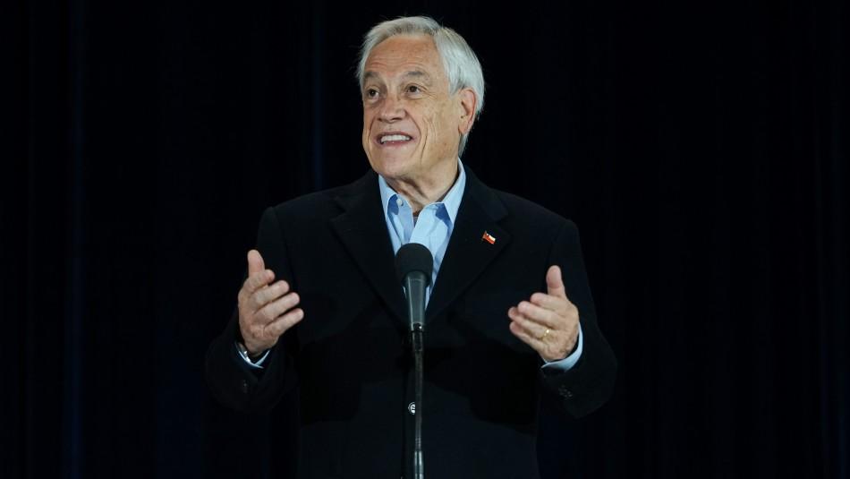 Piñera tras votar en las Primarias: