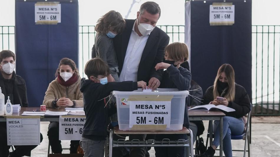 Sichel tras votar en las  Primarias: