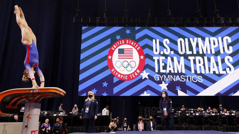 Una gimnasta del equipo olímpico de EEUU tiene coronavirus