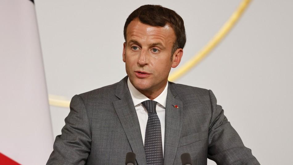 Macron pide a su gobierno un