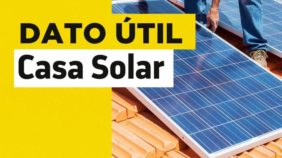 Casa Solar arrendatarios paneles fotovoltaicos
