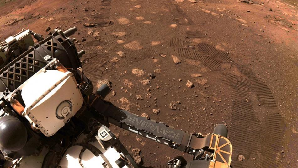 Perseverance detecta que pruebas de vida pasada en Marte habrían sido borradas