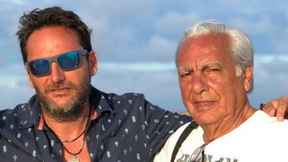 Daniel ex Huevo y su padre