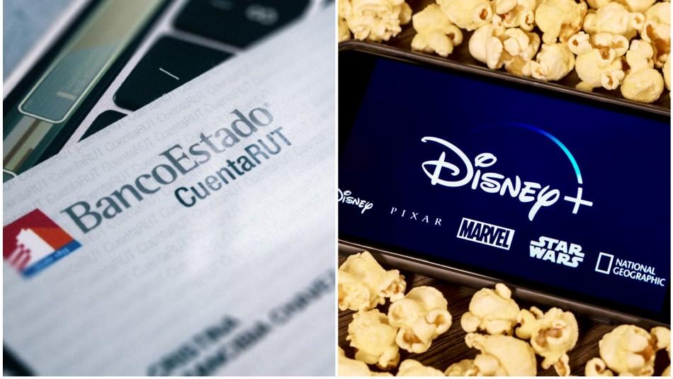 Pagar Disney con Cuenta RUT