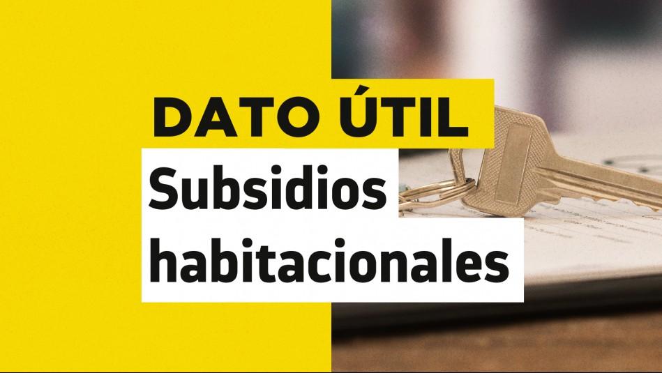 subsidio arriendo llamado regular