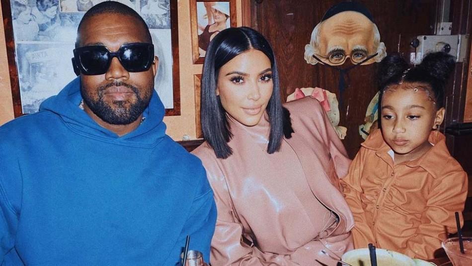 Kim Kardashian y Kanye West se reencuentran en una exclusiva salida familiar