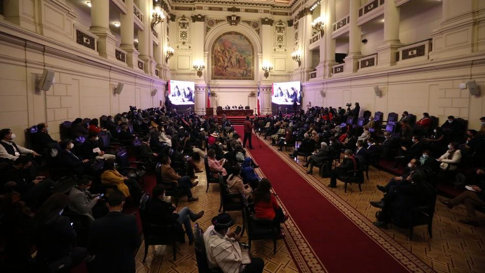 Convención Constitucional aprueba propuesta de cambio de nombre de Comisión de DDHH