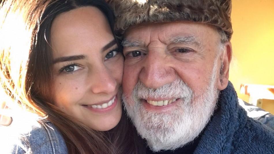 Daniela Castillo y su padre