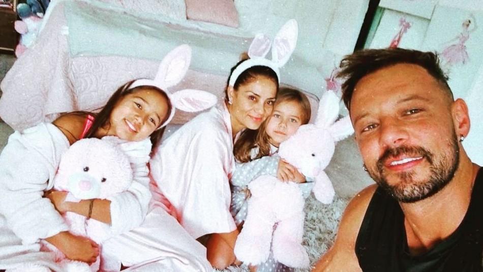 Fabricio y su hijas