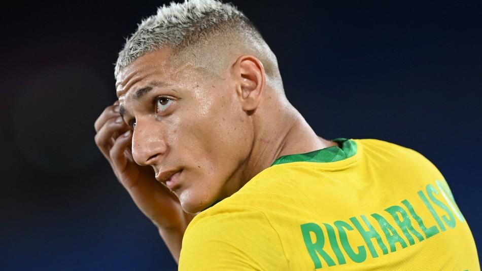 Brasil de Richarlison comienza su defensa del oro goleando a Alemania