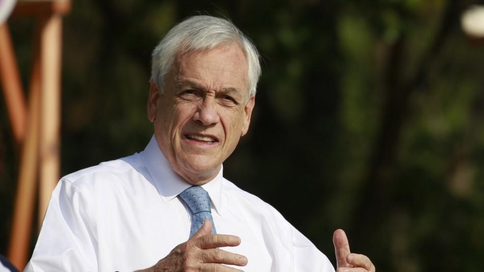 Presidente Piñera confirma que ayudas sociales se mantendrán