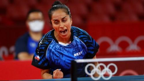 Team Chile: Paulina Vega debutó con espectacular triunfo en tenis de mesa