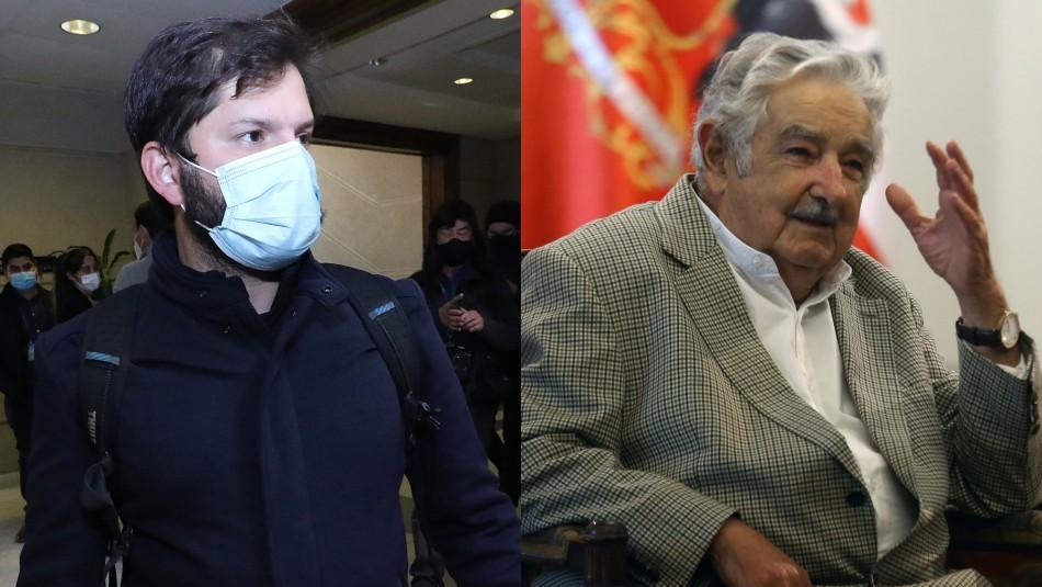 Boric agradece consejos de Pepe Mujica: