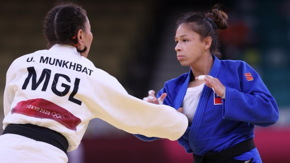 La judoca chilena Mary Dee Vargas.
