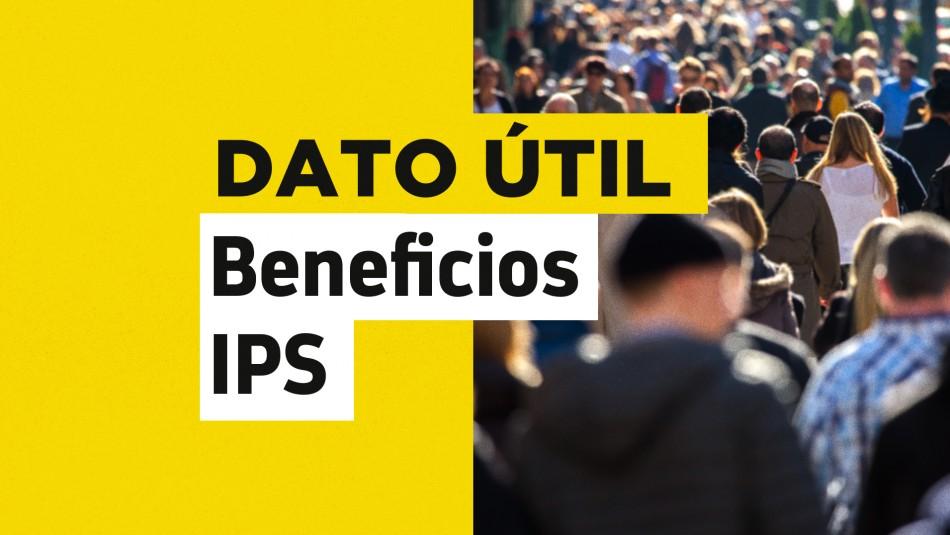 Solo con tu RUT: Conoce cuándo recibes el pago de tus beneficios del IPS